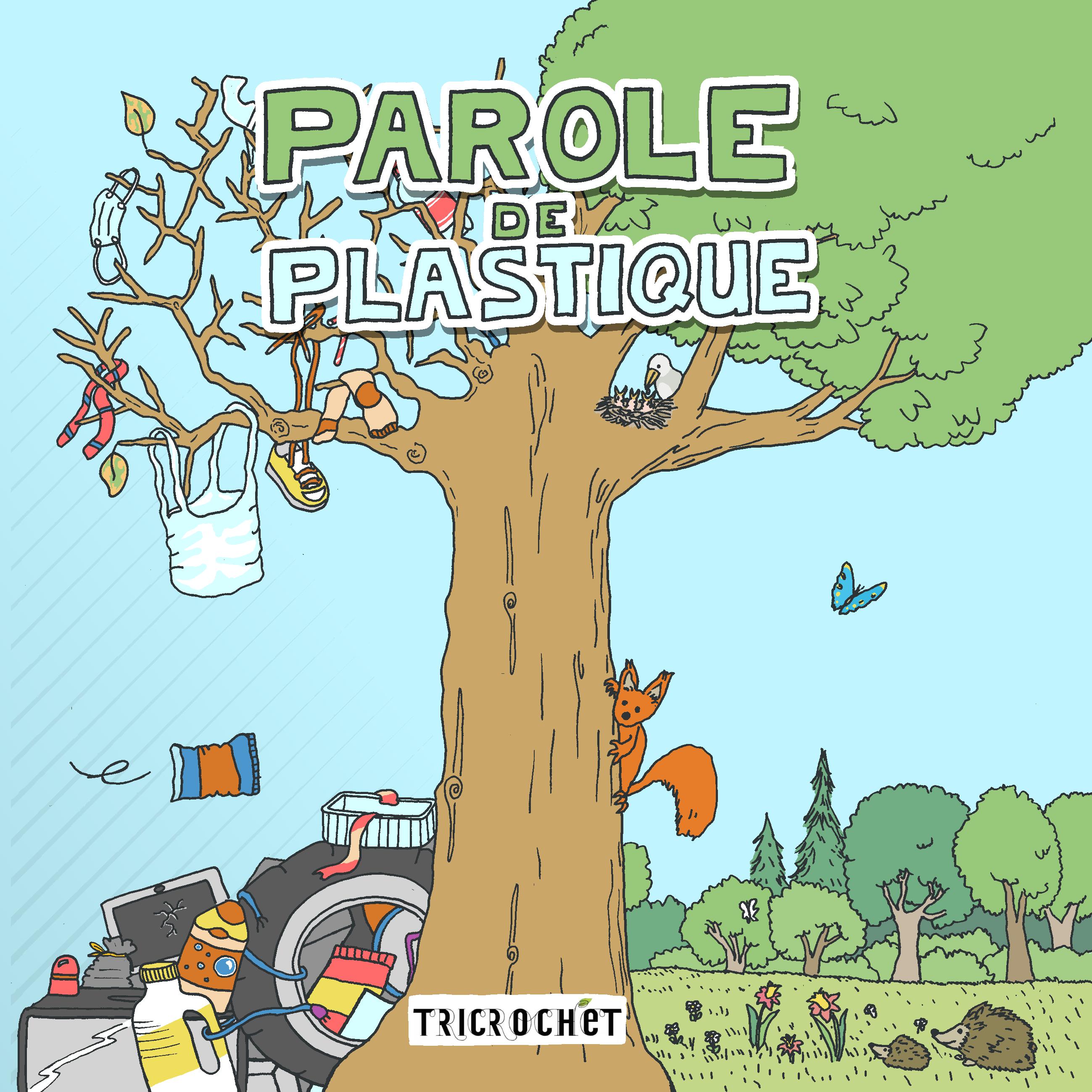 """Bande dessinée """"Parole de plastique"""""""